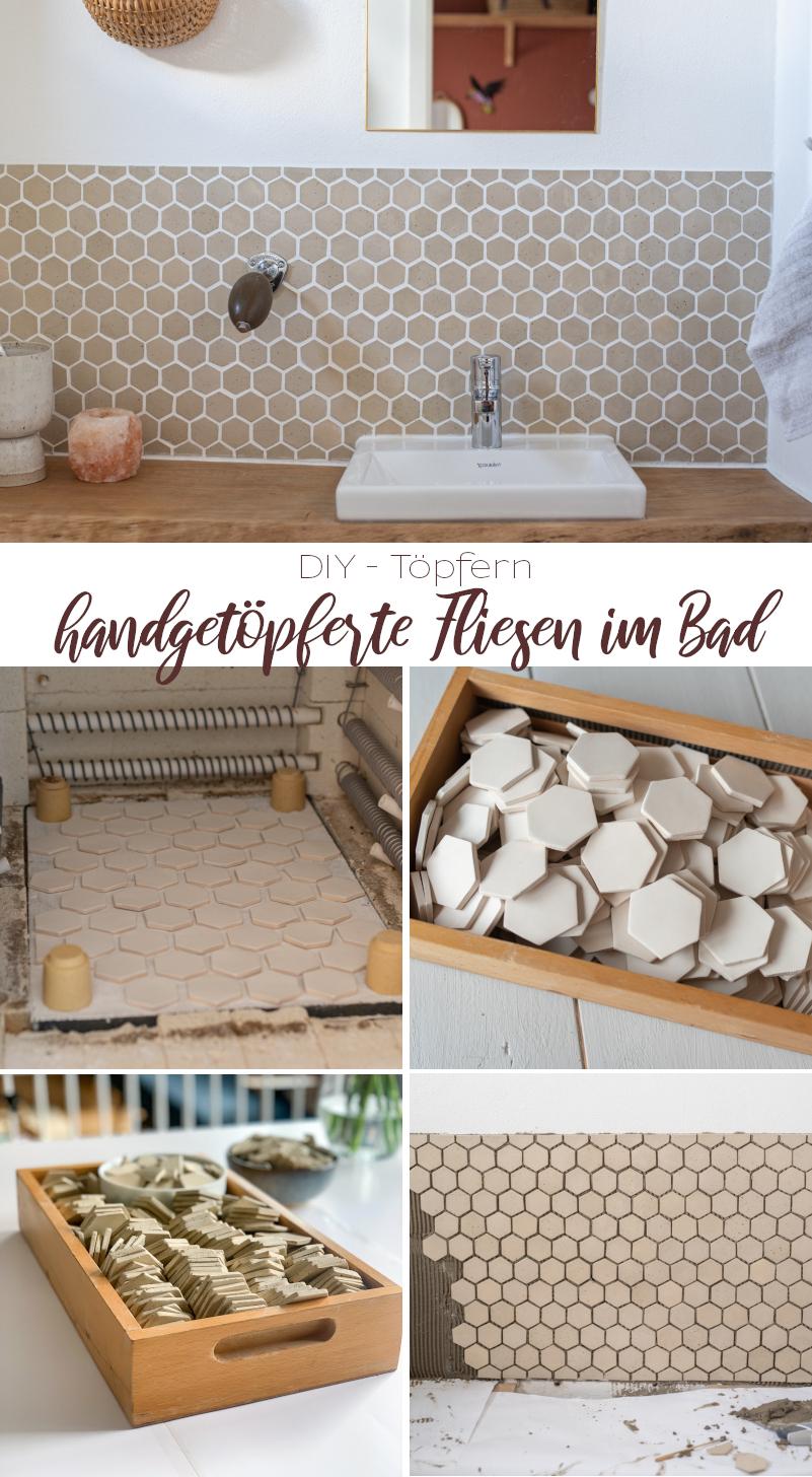 Tipps und Tricks zum Fliesen Töpfern zu Hause für das Badezimmer