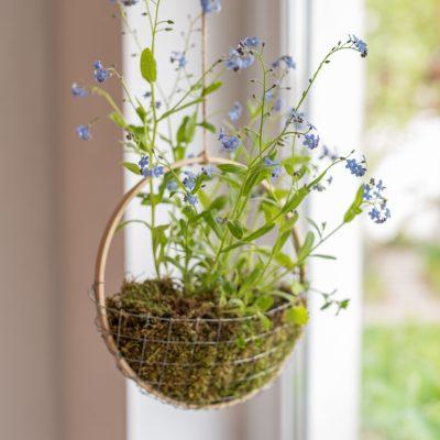 DIY - Blumendeko zum Muttertag selbermachen