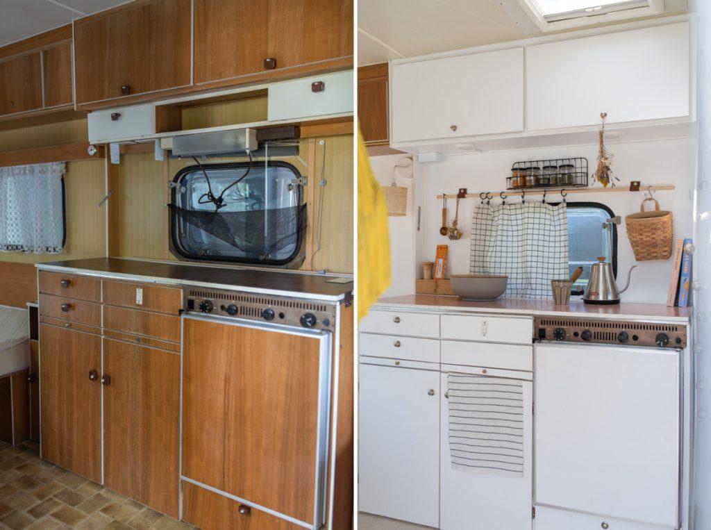 Tipps zur Oldtimer Wohnwagen Renovierung eines Knaus Südwind von 1977 im Boho Look