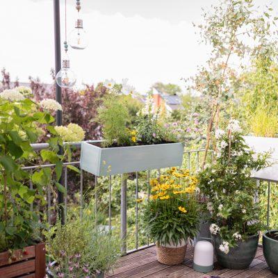 DIY - Blumenkasten aus Holz für den Balkon